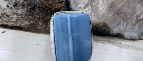 Owyhee Blue Opal Ring Size 5.5