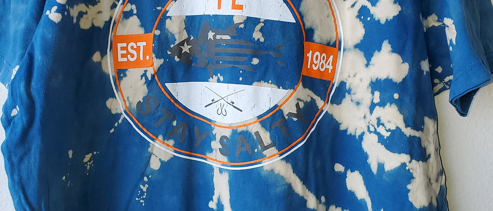 Vintage Tie Dye DESTIN Shirt- 2XL