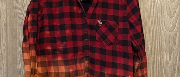 Youth Flannel Size 16