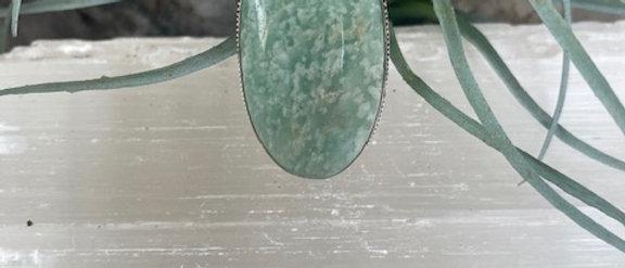 Amazonite Ring Size 8