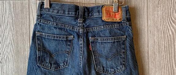 Vintage Kids Levi's Cut Off Shorts Size 10