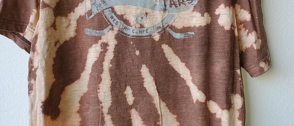 Vintage Tie Dye DALLAS STARS Shirt-Large