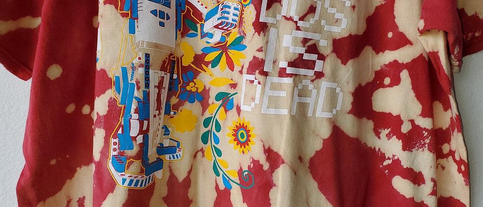 Vintage Tie Dye DOS IS DEAD Shirt-XL