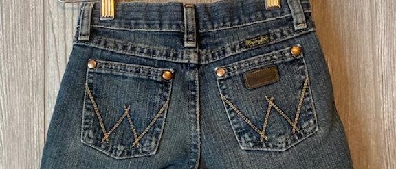 Vintage Kids Wrangler Cut Off Shorts Size 7