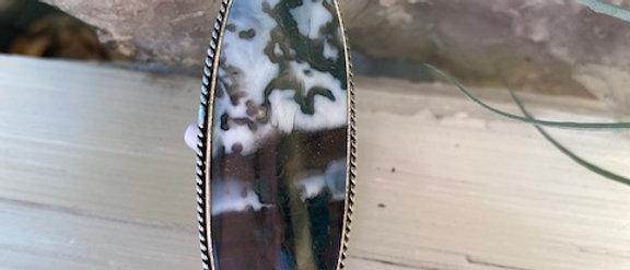 Owyhee Blue Opal Ring Size 7