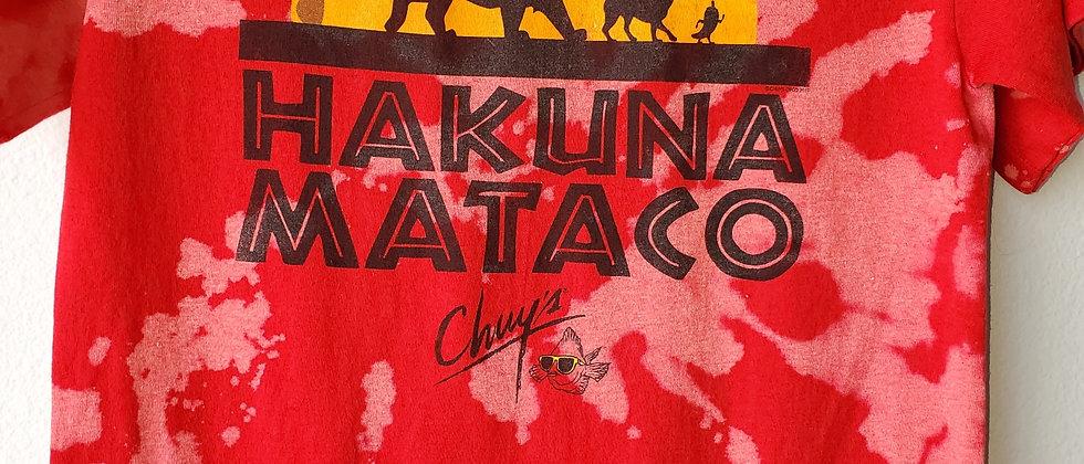 Vintage Tie Dye HAKUNA MATACO Shirt-Small