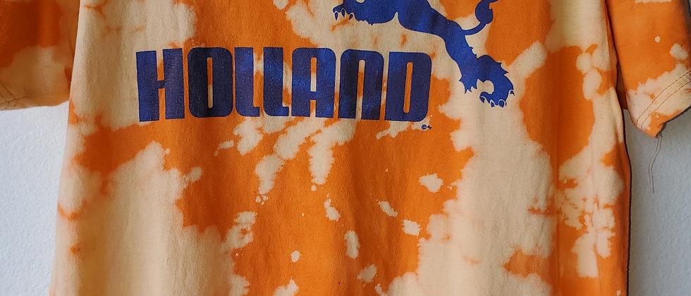 Vintage Tie Dye HOLLAND Shirt-Medium