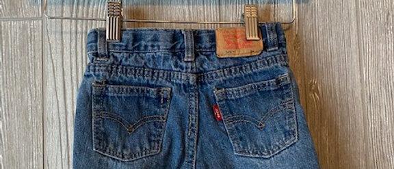 Vintage Kids Levis Cut Off Shorts Size 24 months