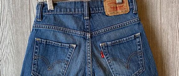Vintage Kids Levi's Cut Off Shorts Size 8