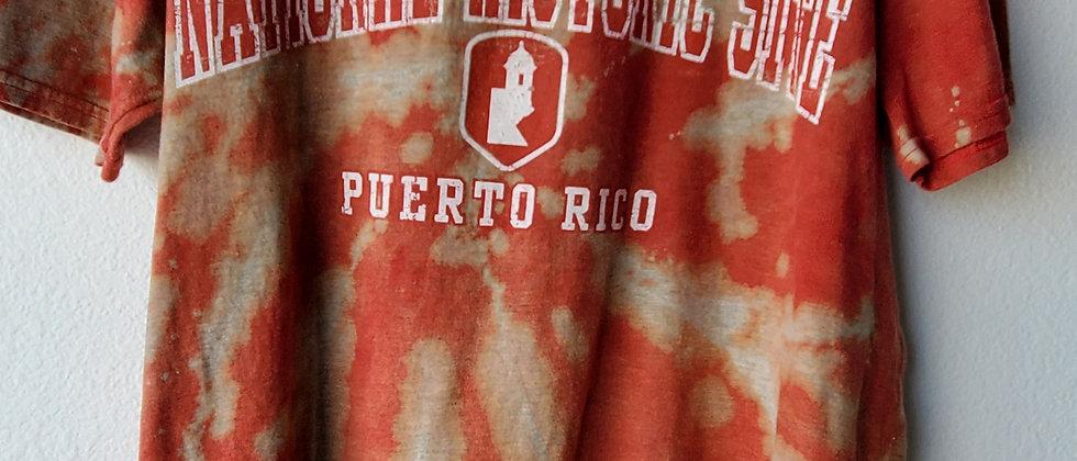 Vintage Tie Dye SAN JUAN PUERTO RICO Shirt-Medium
