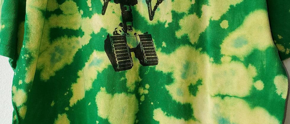 Vintage Tie Dye  SHORT CIRCUIT ROBOT Shirt-XL
