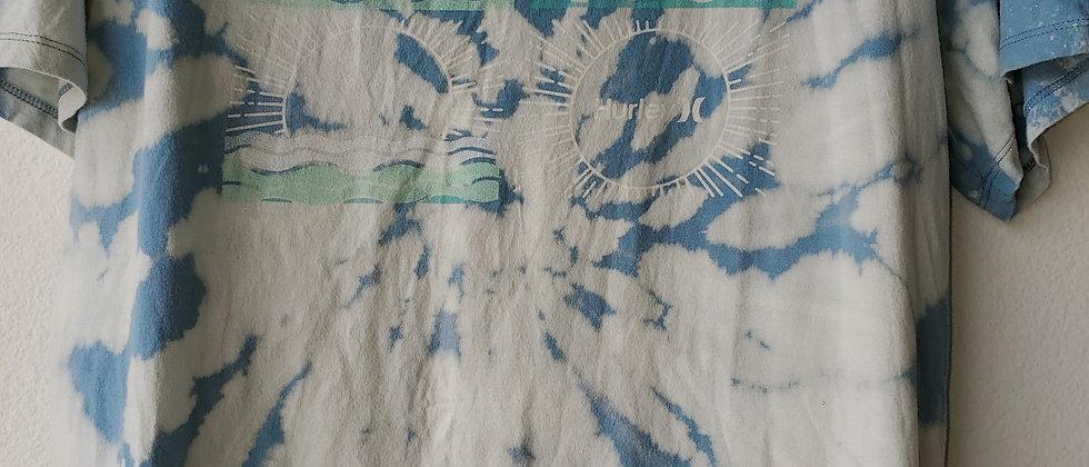 Vintage Tie Dye HURLEY Shirt-Large