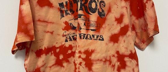 Vintage Tie Dye NITRO'S HOT RODS Shirt-XL