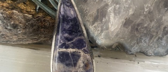 Purple Fluorite Ring Size 6