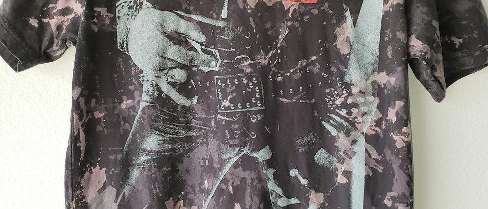 Motley Crue Acid Splashed Tee Shirt