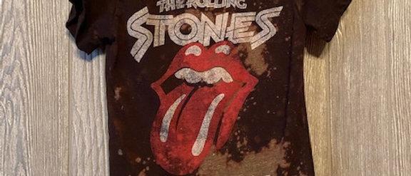 Hipster Rolling Stones Infant/Toddler Acid Splashed T-Shirt