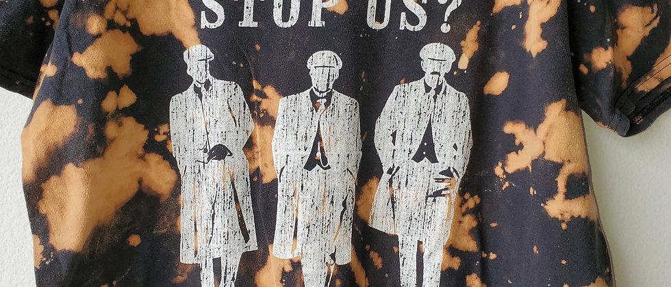 Vintage Tie Dye PEAKY BLINDERS Shirt-Large