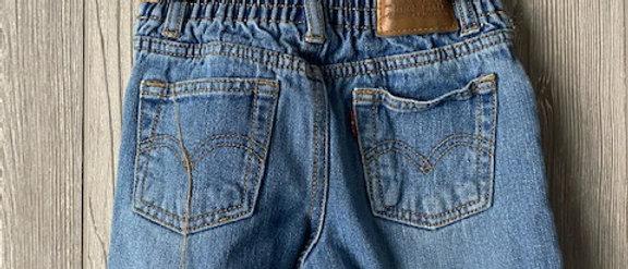Vintage Kids Levis Cut Off Shorts Size 4T