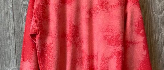 Acid Splashed Sweatshirt Dragonfruit S-XL