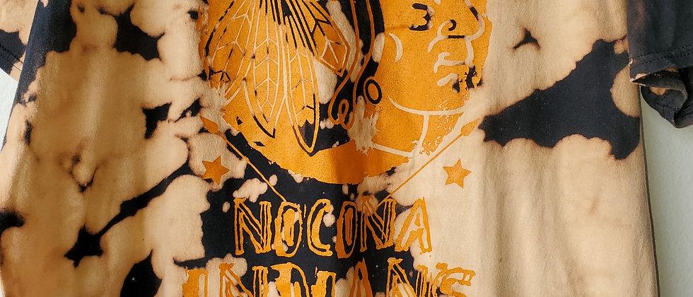 Vintage Tie Dye NOCONA INDIANS Shirt-XL