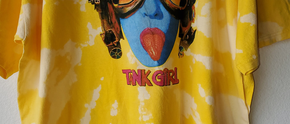 Vintage Tie Dye TANK GIRL Shirt-2XL