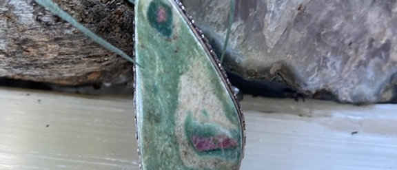 Ruby Fuchsite Ring Size 8