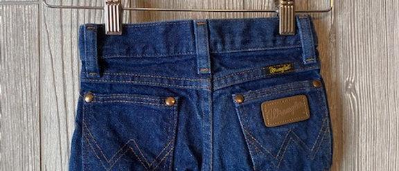 Vintage Kids Wranglers Cut Off Shorts Size 4T