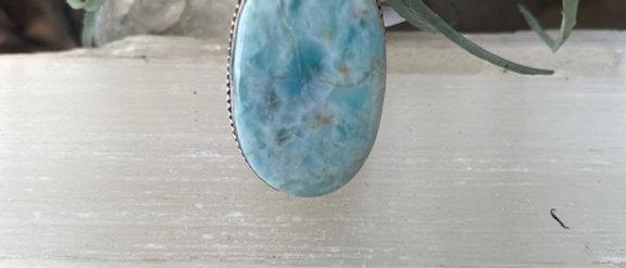 Larimar Ring Size 6