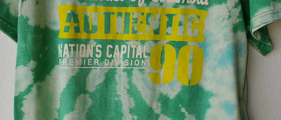 Vintage Tie Dye WASHINGTON DC  Shirt-Medium