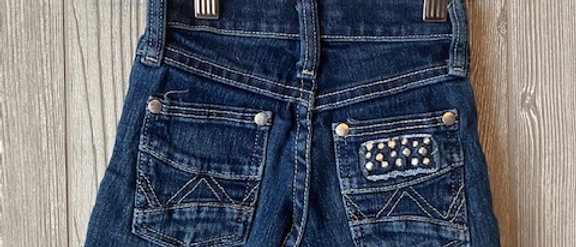 Vintage Kids Wrangler Cut Off Shorts Size 4T