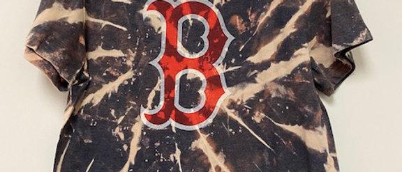 Vintage Tie Dye Boston Shirt-Large
