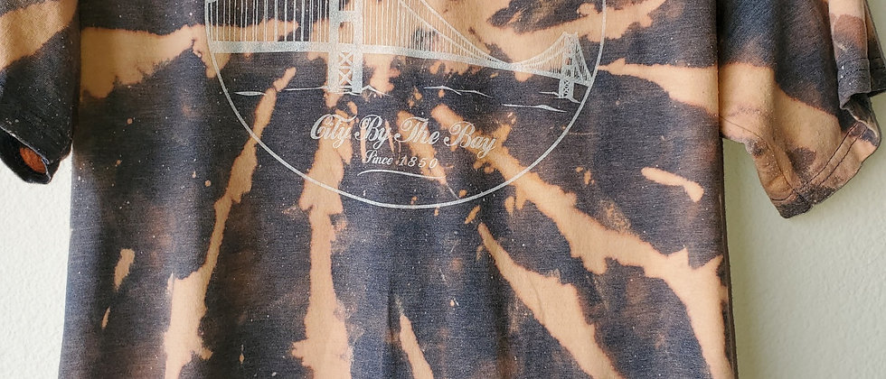 Vintage Tie Dye SAN FRANCISCO Shirt-Small