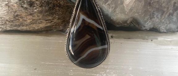 Botswana Agate Ring Size 8