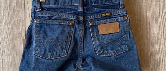 Vintage Kids Wrangler Cut Off Shorts Size 10