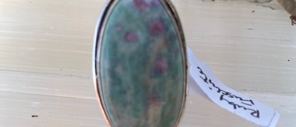 Ruby Fuchsite Ring Size 7.5