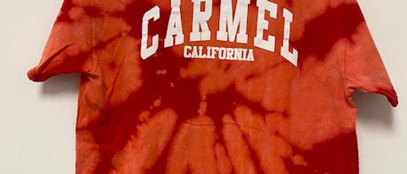 Vintage Tie Dye Carmel  Shirt-Large
