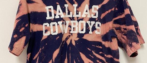 Vintage Tie Dye Dallas Cowboys Shirt-Medium