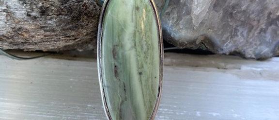 Larsonite Jasper Ring Size 7
