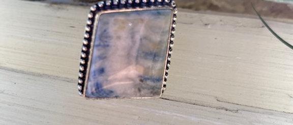 Lapis Lace Ring Size 8