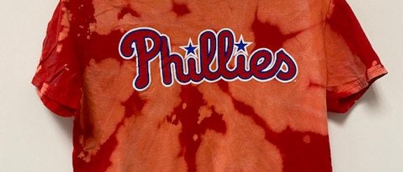 Vintage Tie Dye Phillies-Medium