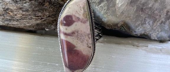 Porcelain Jasper Ring Size 9