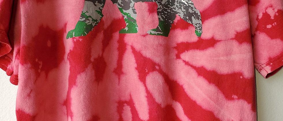 Vintage Tie Dye COLORADO Shirt-XL