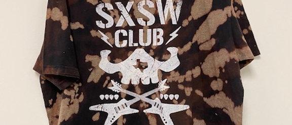 Vintage Tie Dye SXSW Club Shirt-2XL