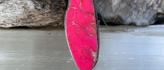 Sea Sediment Jasper Ring Size 6.5