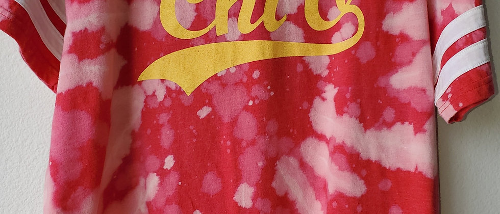 Vintage Tie Dye CHI O Shirt-Large