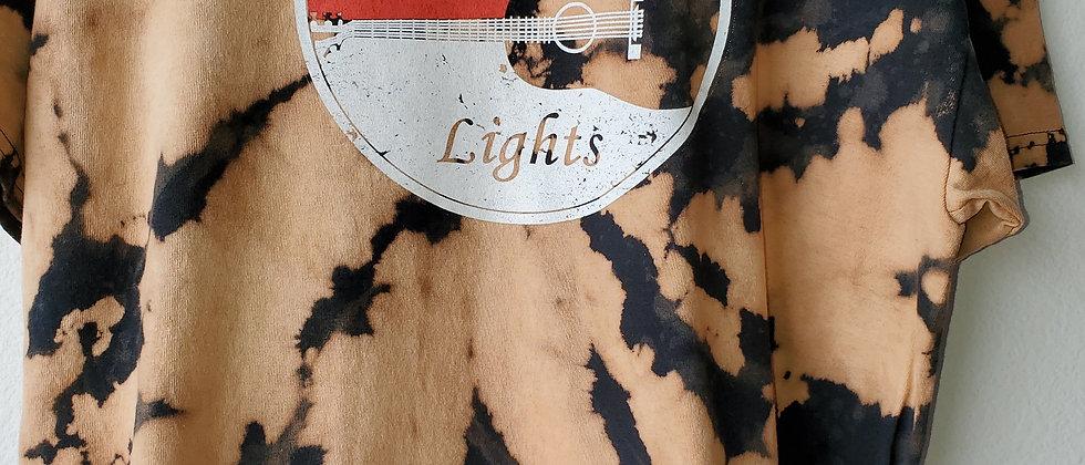 Vintage Tie Dye NASHVILLE LIGHTS Shirt-XL