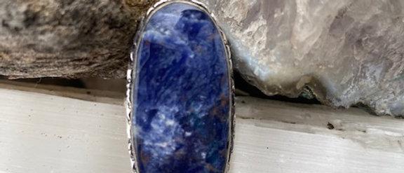 Sodalite Ring Size 6.5