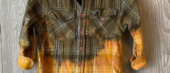Youth Flannel Size 8