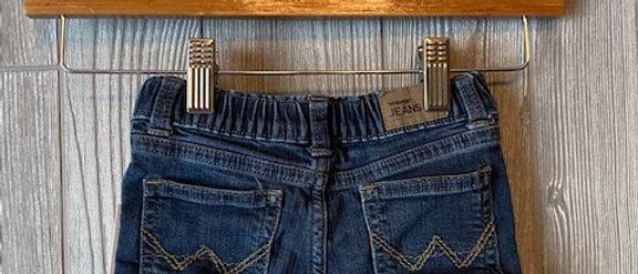 Vintage Kids Wrangler's Cut Off Shorts Size 18 Months