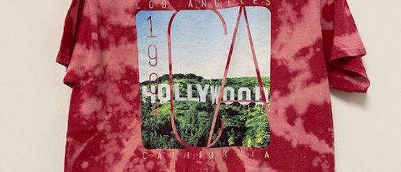 Vintage Tie Dye Hollywood Shirt-Large